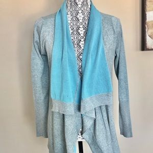 NWT Raffi Cotton Open Cardigan